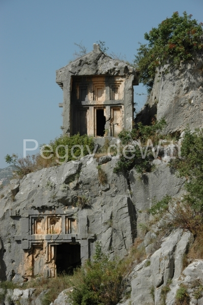 Turkey Lycian Tombs Demre (20) (v) #1011