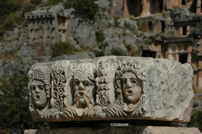 Turkey Lycian Tombs Demre (49) #1021