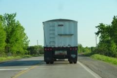 Truck Back White #2444