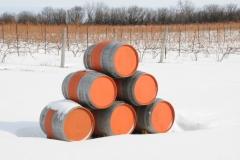 Hillier Winery Sandbanks Winter #2172