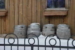 Winery Barrels Winter #3525