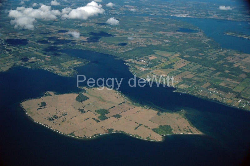 Waupoos Island Smiths Bay Aerial #689