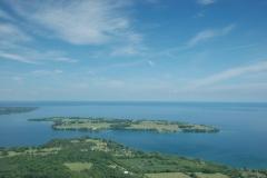Waupoos Island Aerial Sky #1247