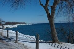 Huyck Point Shore Winter #1540