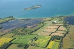 Huyck Pt Aerial Islands #2334