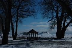 Huyck Pt Gazebo Winter #1175