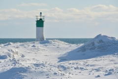Lighthouse Wellington Winter #3286