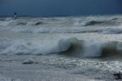 Wellington Beach Double Wave #1102