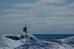 Wellington Beach Lighthouse Winter #1172
