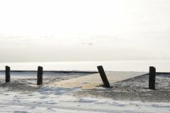 Wellington Beach Posts Winter #2322