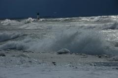 Wellington Beach Waves Winter #1156