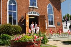 Wellington Museum Door Canada Day #2099