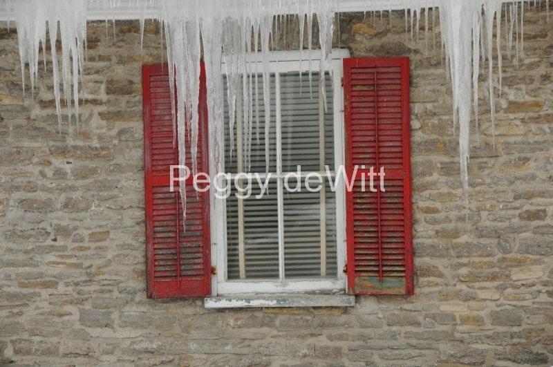Window Icicles Winter #2331