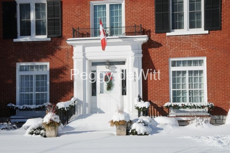House Door Picton Winter #3269