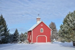 Barn Cherry Valley Winter #2907