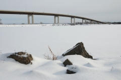 Belleville Bridge Snow Winter #2781