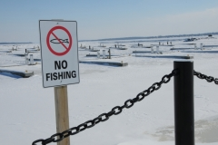 Belleville No Fishing Winter #2795