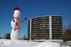 Snowman Belleville Anchorage #1676