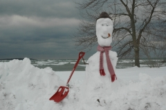 Snowman North Beach Shovel #1892