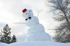 Snowman Parry Sound #2309