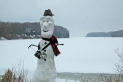 Snowman Prinyers Cove #665