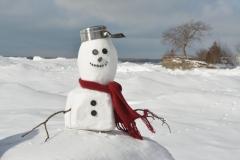 Snowman Pt Petre Pot #3501