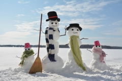 Snowmen Family Twins #3507