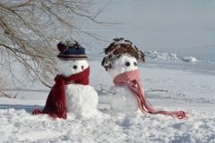 Snowmen Kids Waupoos #3504