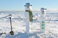 Snowmen Sandbanks Shovel #3505