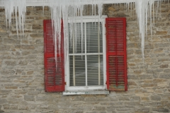 Window Icicles Winter #2331