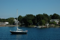 Wolfe Island Sailboats #1328